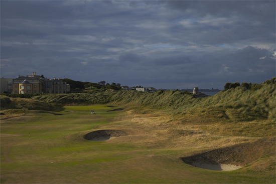 Portmarnock Golf Links beside the ocean