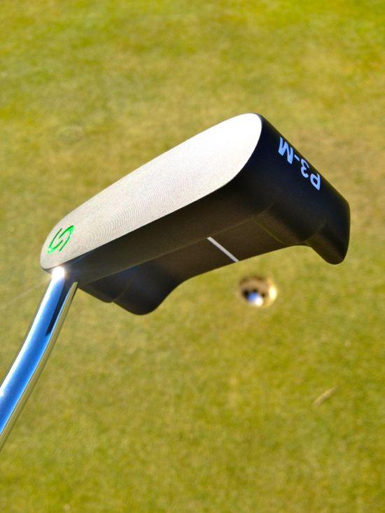 Boccieri Golf P3 M Belly Putter Putting Green