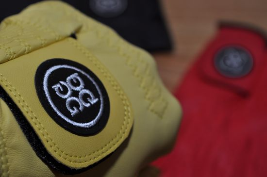 G/Fore Gloves Fist Yellow
