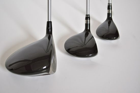 Nike Golf VRS Driver, Fairway, and Hybrid Nike Driver Fairway VRS Fairway Lined Up