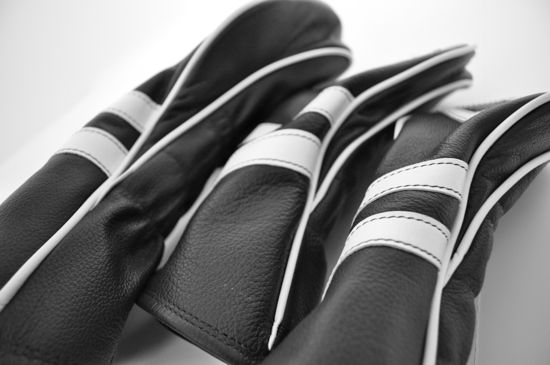 Cru Golf Headcovers covers side detail