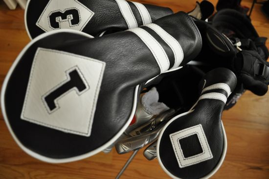 Cru Golf Headcovers driver in bag