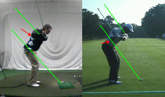 GolfTEC Lessons BenVsTigerDown