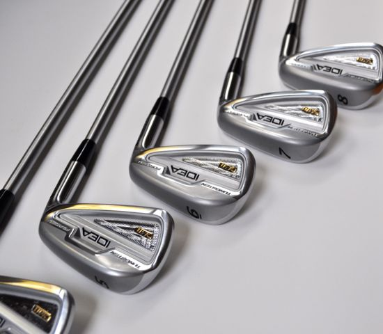 Adams CMB Irons Setup View