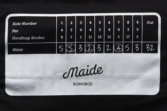 Maide Apparel Review Maide Barton Short Tag