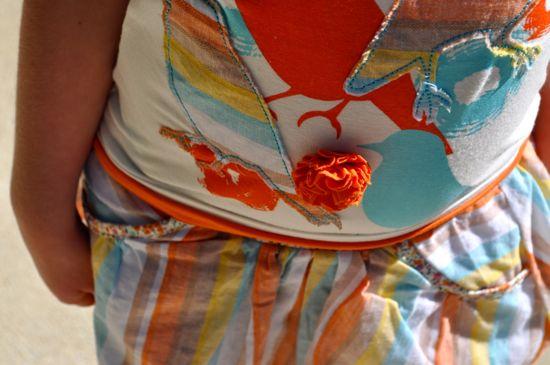 ForeNBirdie_shirt_skirt_detail