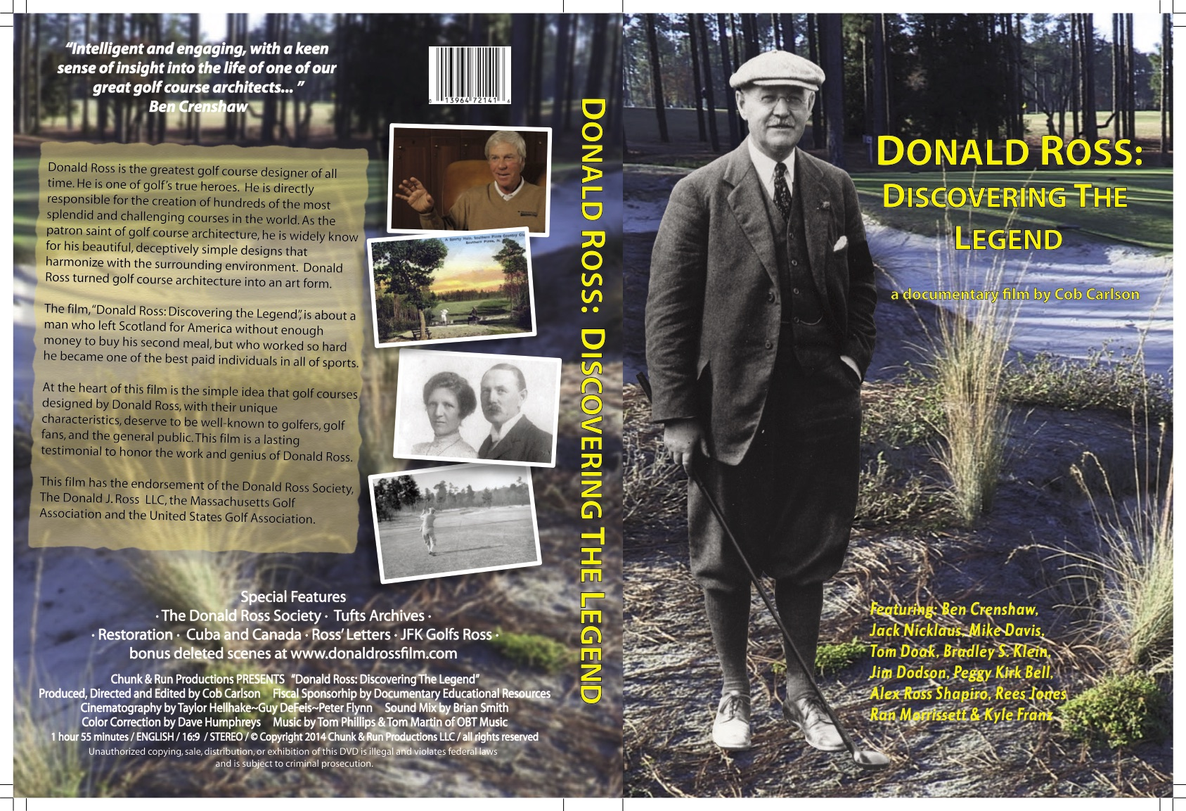 Donald Ross DVD Wrap